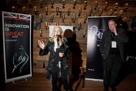 BFI's Amanda Nevill and BFC/Film London head Adrian Wootton